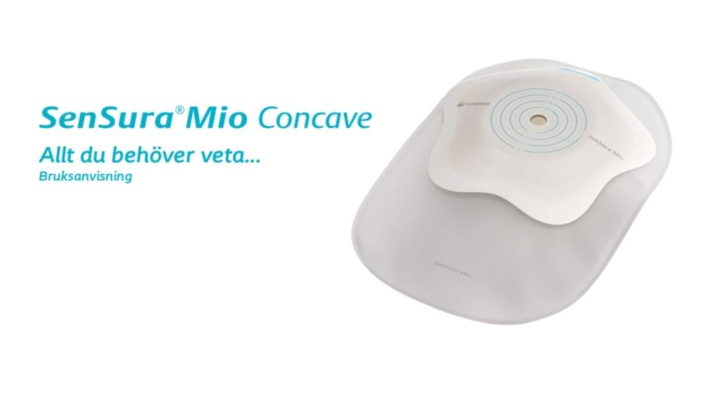 SenSura Mio Concave 1-dels sluten påse