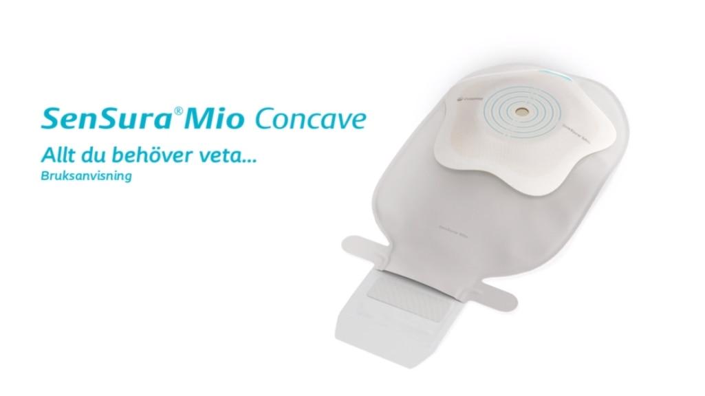 SenSura Mio Concave 1-dels tömbar påse