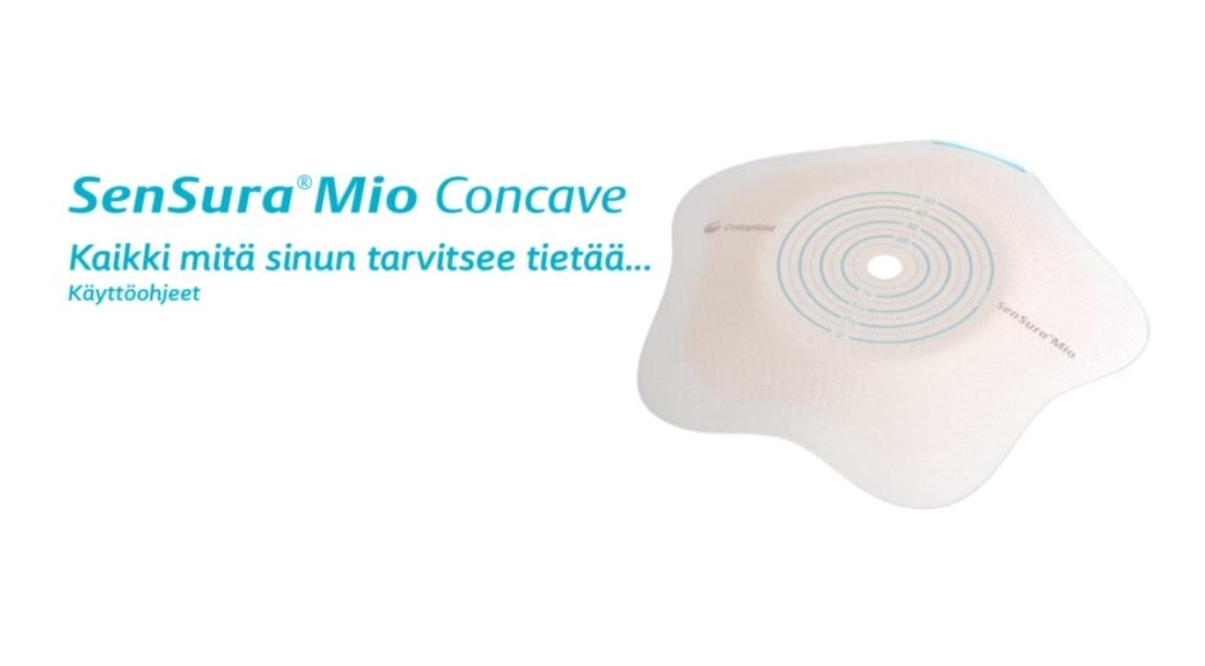 SenSura® Mio Click Concave pohjalevy
