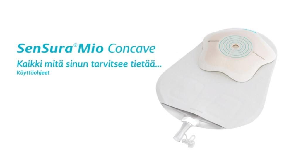 SenSura® Mio Concave 1-osainen virtsa-avannesidos